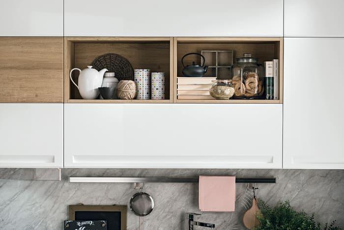 Colombini Casa Cucina Moderna Isla elementi giorno legno 82