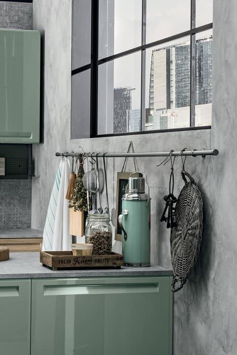 Colombini Casa Cucina Moderna Isla elementi per stile industriale 32b
