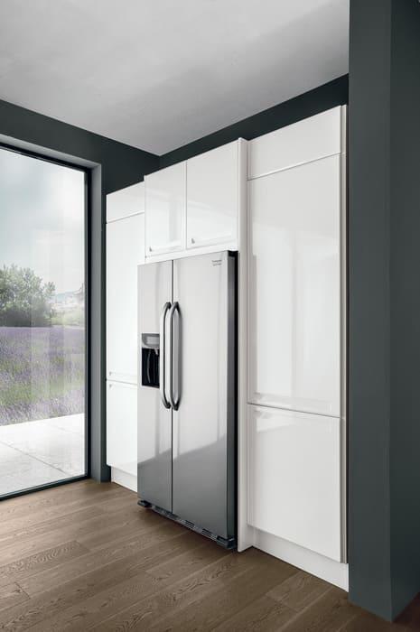 Colombini Casa Cucina Moderna Isla frigorifero incassato 90