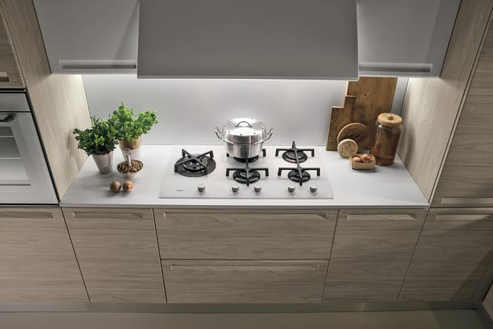 Colombini Casa Cucina Moderna Isla led integrati 50b