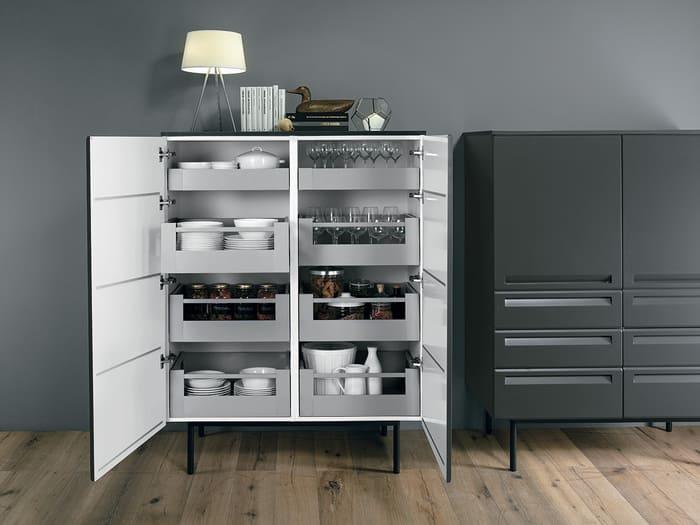 Colombini Casa Cucina Moderna Isla mobili coordinati 106 107