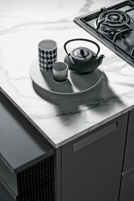 Colombini Casa Cucina Moderna Isla piano pregiato 15