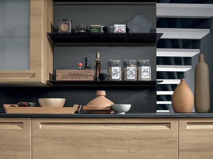 Colombini Casa Cucina Moderna Isla sportelli maniglia integrata 94 95