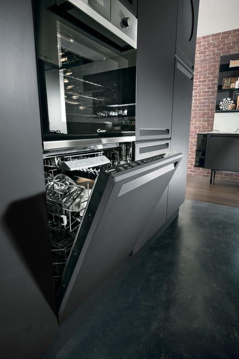 Colombini Casa Cucina Moderna Isla sportello per lavastoviglie 17c