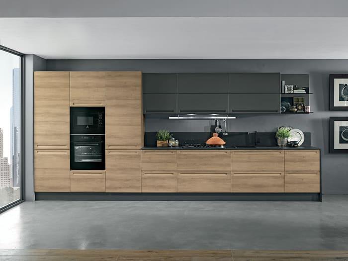 Colombini Casa Cucina Moderna Isla stile industriale 104 105