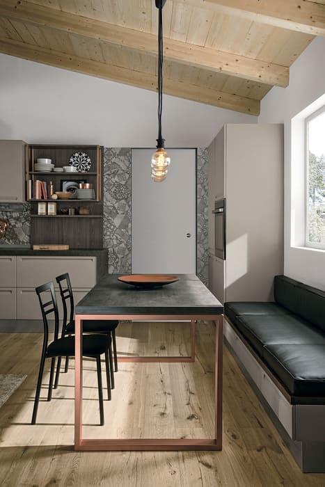Colombini Casa Cucina Moderna Isla tavolo coordinato 70