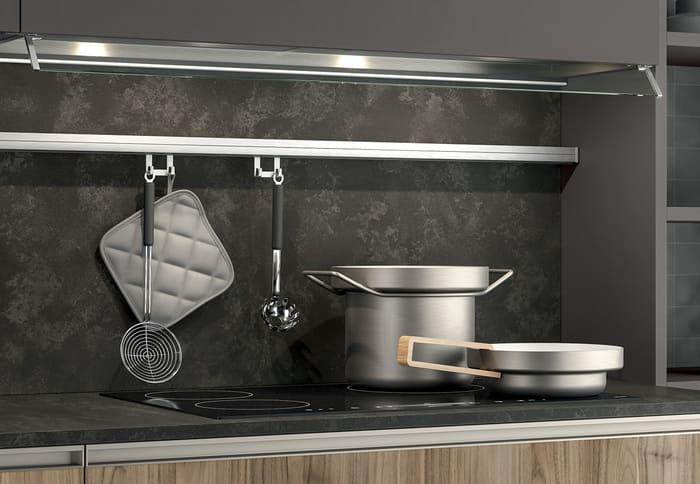 Colombini Casa Cucina Moderna Linea accessori funzionali 65