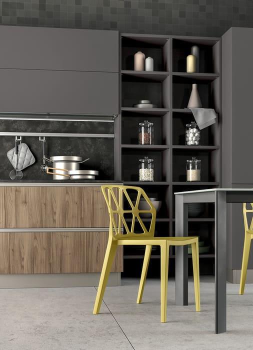 Colombini Casa Cucina Moderna Linea sedia colorata 58