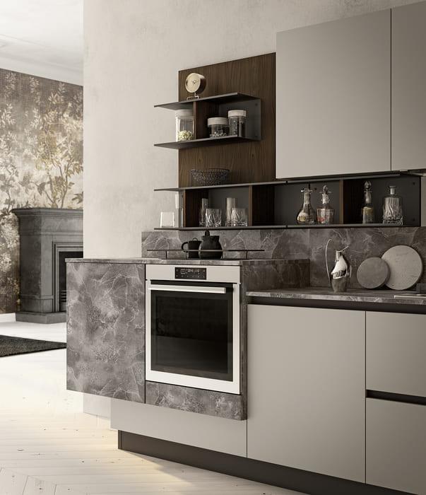 Colombini Casa Cucina Moderna Lungomare2 elementi giorno Bay pag29
