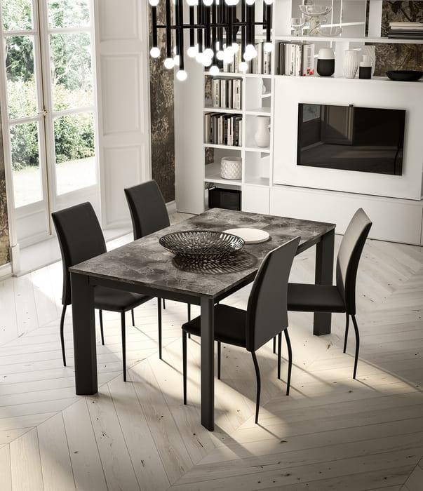 Colombini Casa Cucina Moderna Lungomare2 elementi tavolo sedie pag
