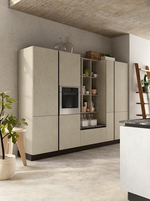 Colombini Casa Cucina Moderna Lungomare3 ante cemento pag 44