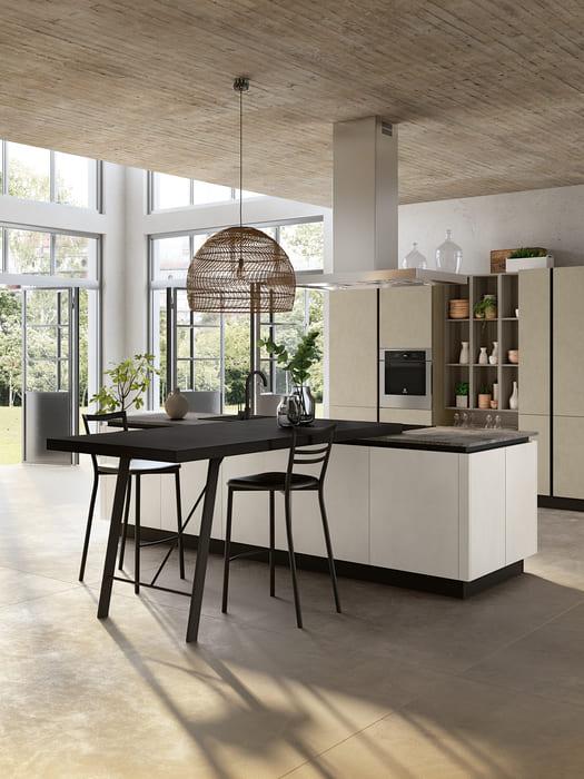 Colombini Casa Cucina Moderna Lungomare3 sedie tavolo cucina pag 42