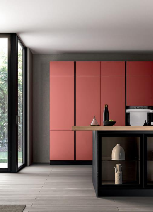 Colombini Casa Cucina Moderna Lungomare4 colonna con ante telaio pag 46