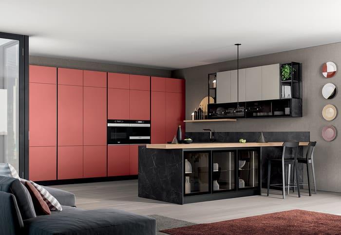 Colombini Casa Cucina Moderna Lungomare4 composizione tipo pag 50 51
