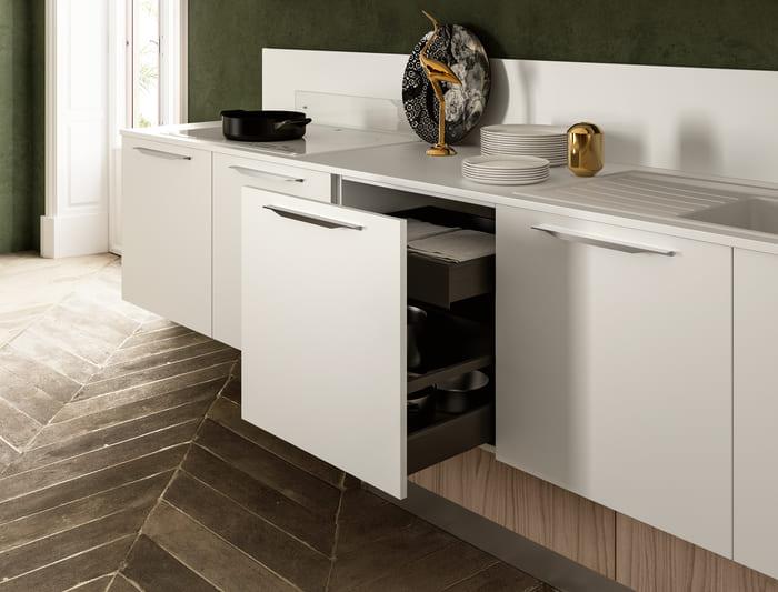 Colombini Casa Cucina Moderna Lungomare5 base con cestello pag69