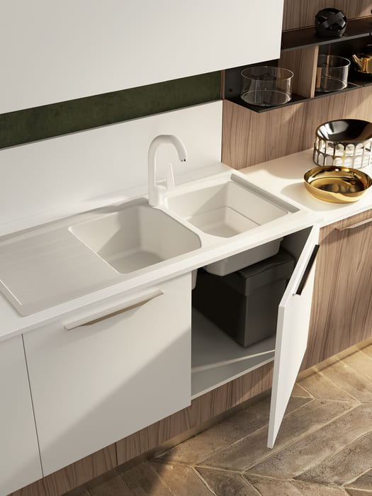 Colombini Casa Cucina Moderna Lungomare5 lavandino pag70b