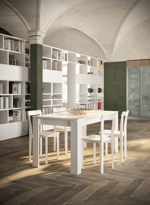Colombini Casa Cucina Moderna Lungomare5 tavolo sedie pag67