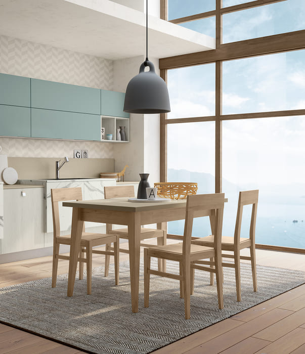 Colombini Casa Cucina Moderna Lungomare8 tavolo sedie pag 113