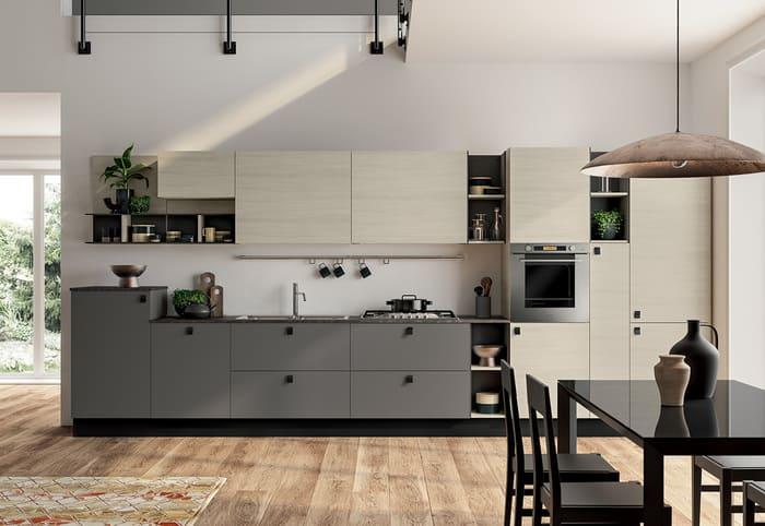 Colombini Casa Cucina Moderna Lungomare9 composizione tipo 52b124 125