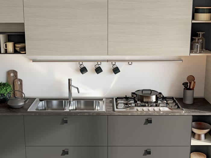 Colombini Casa Cucina Moderna Lungomare9 piano cottura 127a
