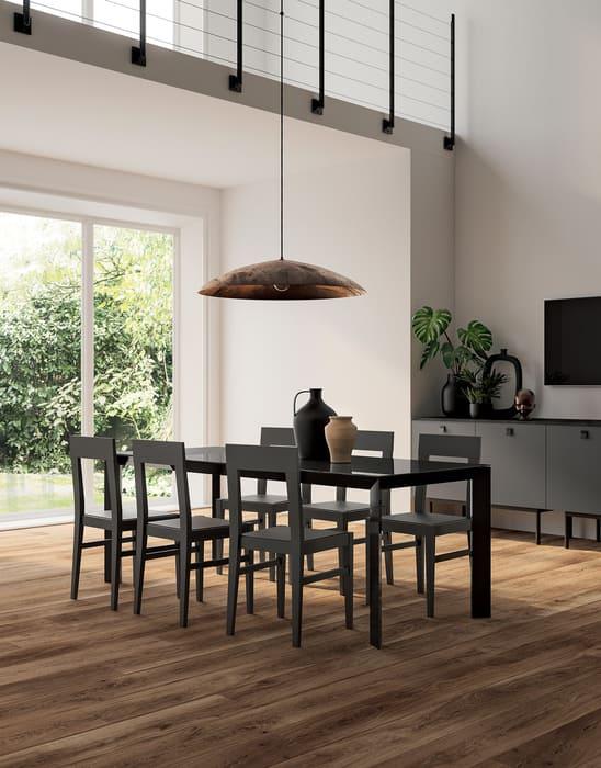 Colombini Casa Cucina Moderna Lungomare9 tavolo sedie 129b