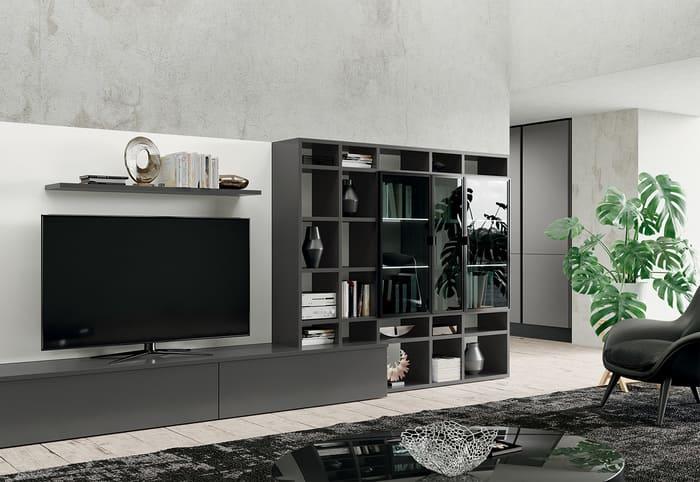 Colombini Casa Cucina Moderna Paragon abbinata con living31