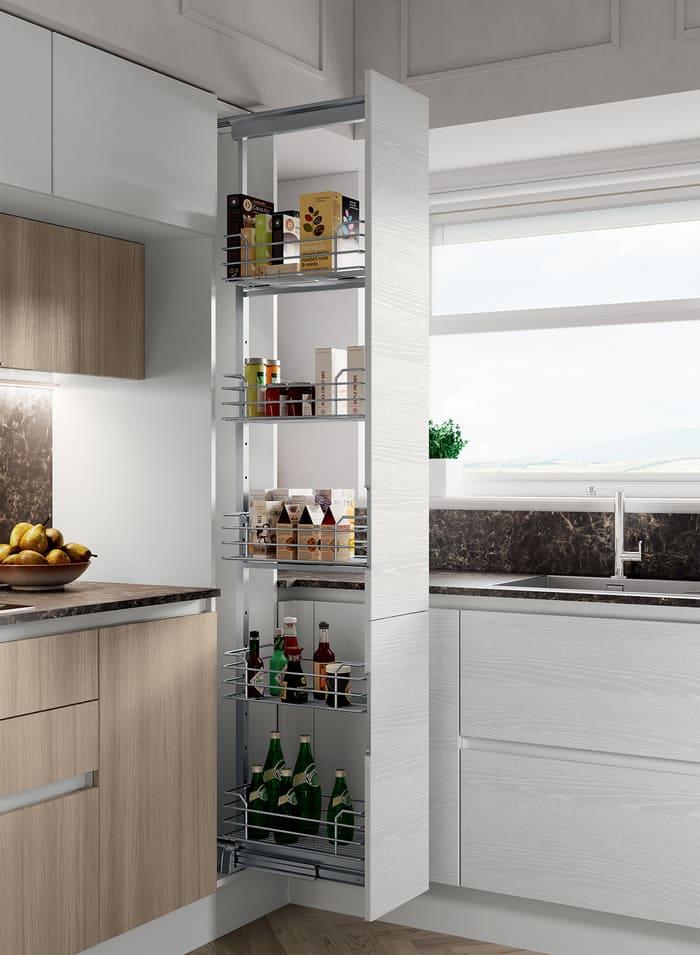 Colombini Casa Cucina Moderna Paragon cestelli estraibili 111a