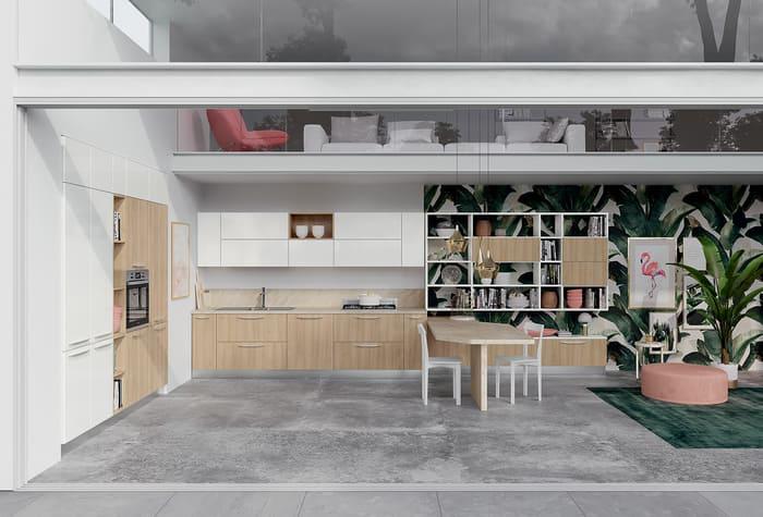 Colombini Casa Cucina Moderna Paragon ciliegio nordico 52 53