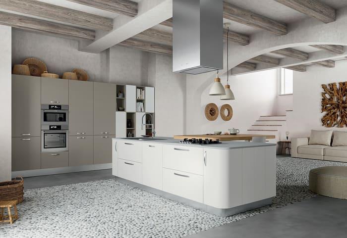 Colombini Casa Cucina Moderna Paragon composizione tipo 10 11