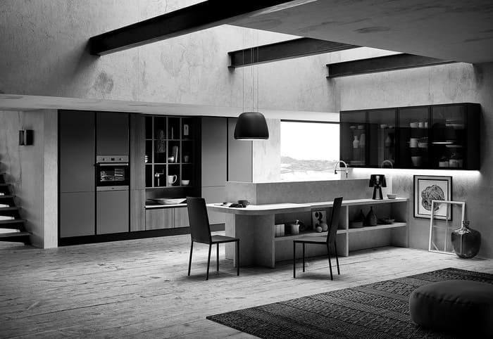 Colombini Casa Cucina Moderna Paragon design lineare 32 33