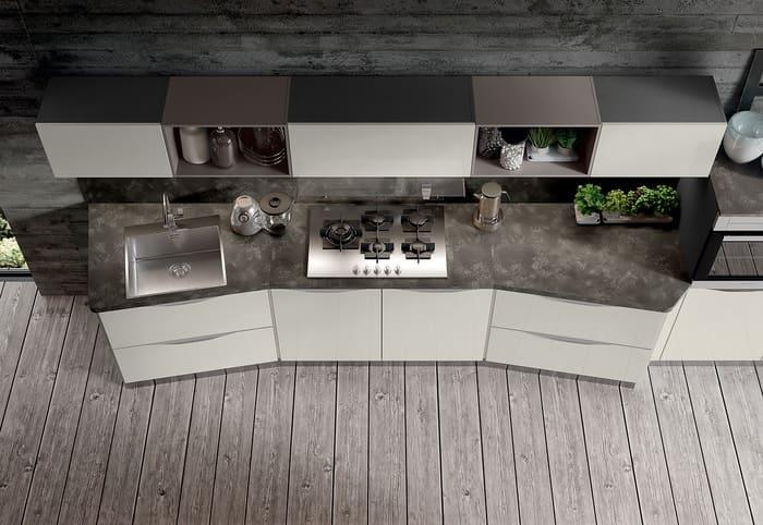 Colombini Casa Cucina Moderna Paragon design originale e unico 85
