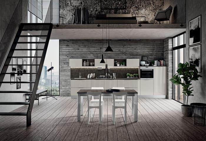 Colombini Casa Cucina Moderna Paragon finitura grigio dorian 84b