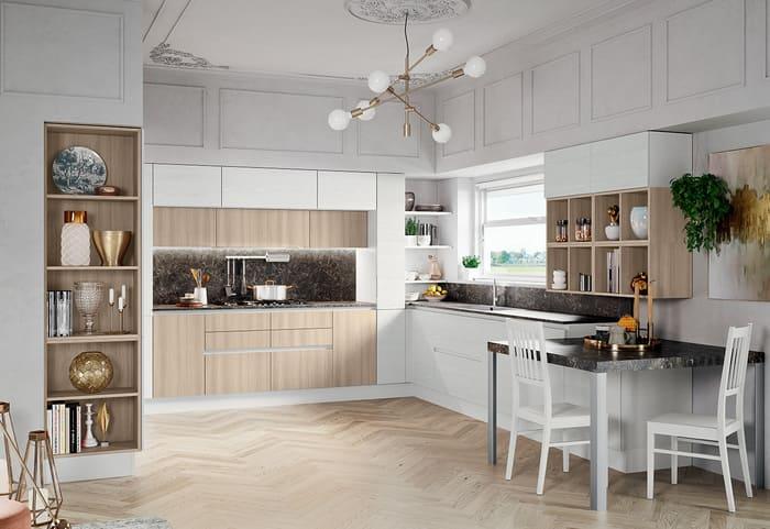 Colombini Casa Cucina Moderna Paragon frassino bianco puro 106 107