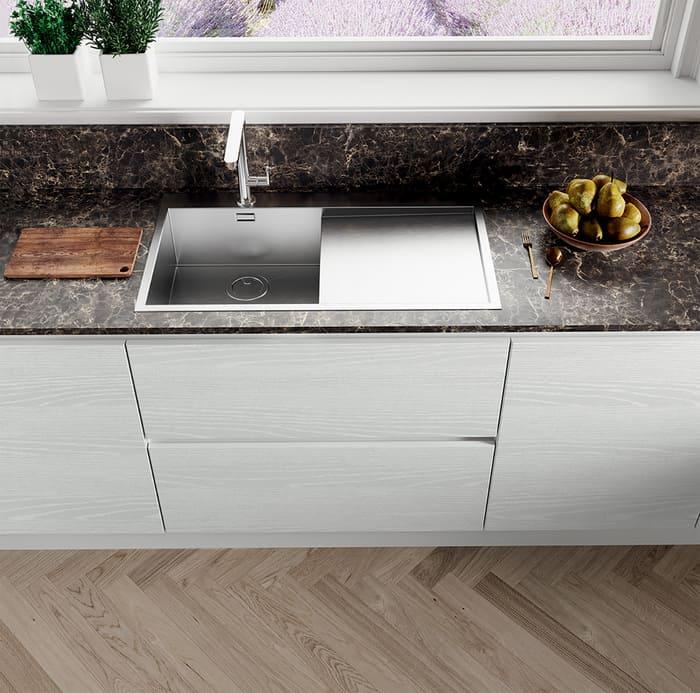 Colombini Casa Cucina Moderna Paragon lavello acciaio 111b