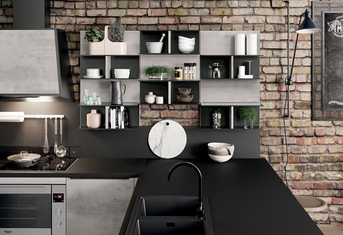 Colombini Casa Cucina Moderna Paragon per case di design 42