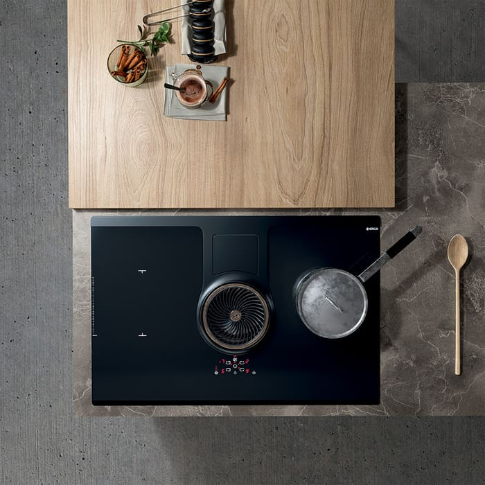 Colombini Casa Cucina Moderna Paragon piano induzione 68