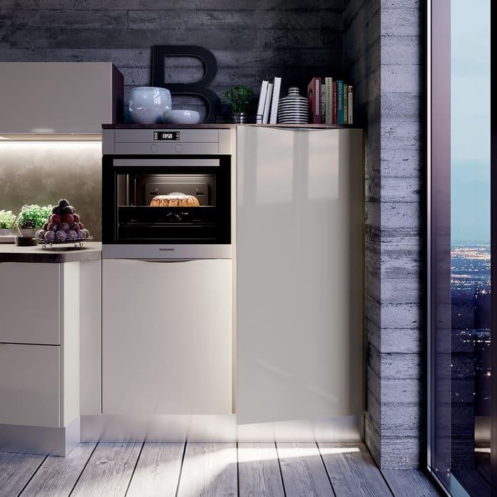 Colombini Casa Cucina Moderna Paragon sportelli grigi 82