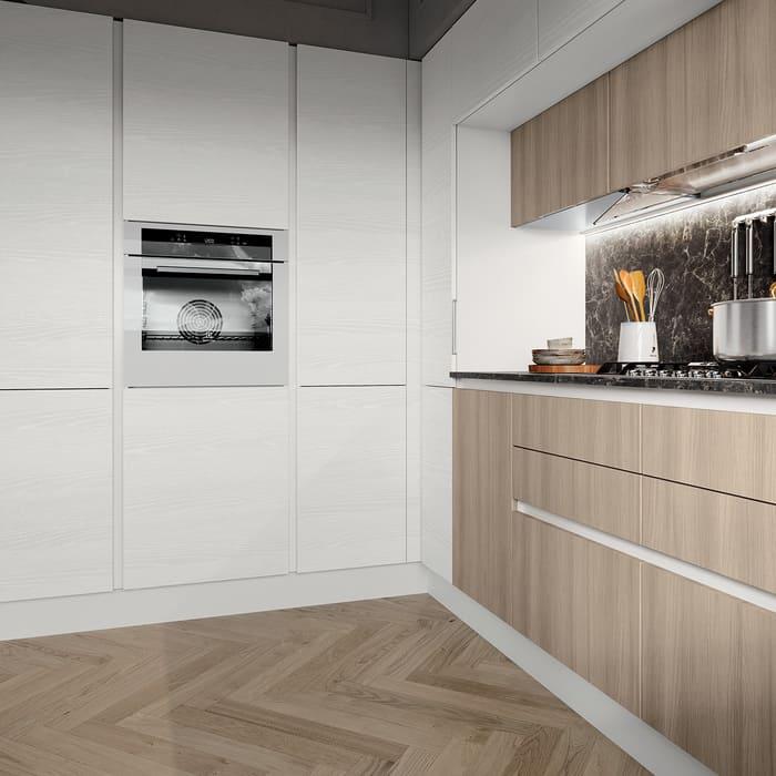 Colombini Casa Cucina Moderna Paragon sportelli senza maniglie 110