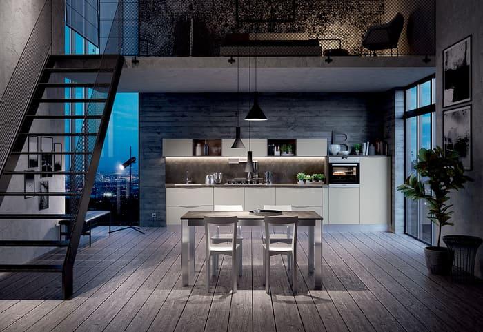 Colombini Casa Cucina Moderna Paragon stile lineare non scontato 84a