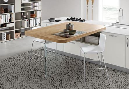 Colombini Casa Cucina Moderna Paragon tavolo 1413a