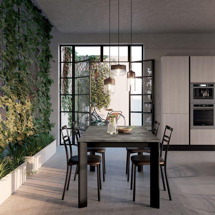 Colombini Casa Cucina Moderna Paragon tavolo coordinato 70