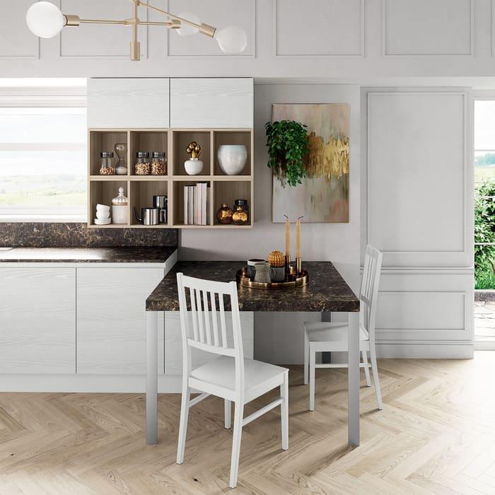 Colombini Casa Cucina Moderna Paragon tavolo penisola 108