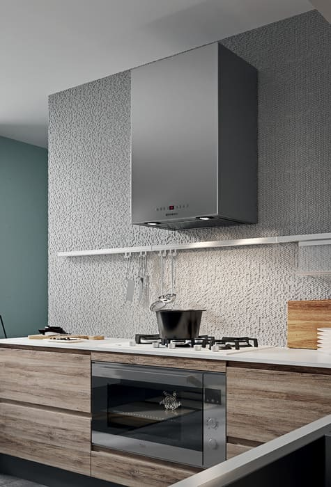 Colombini Casa Cucina Moderna Pura cappa moderna 42a