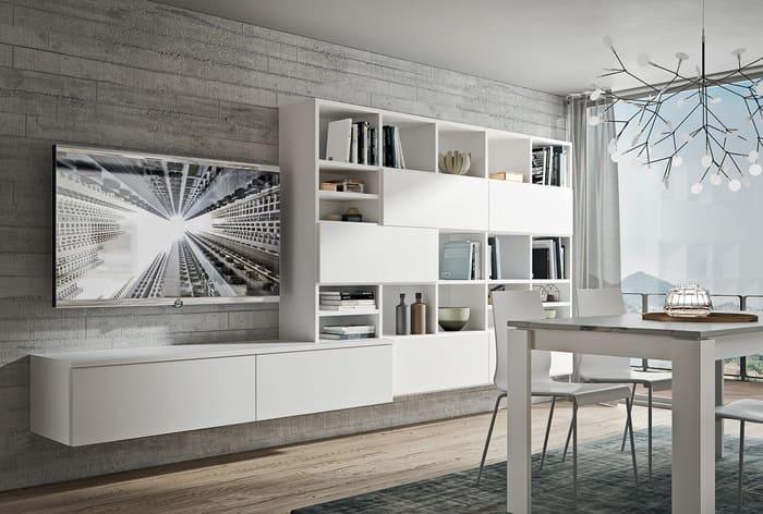 Colombini Casa Cucina Moderna Pura con elementi per living 16 17