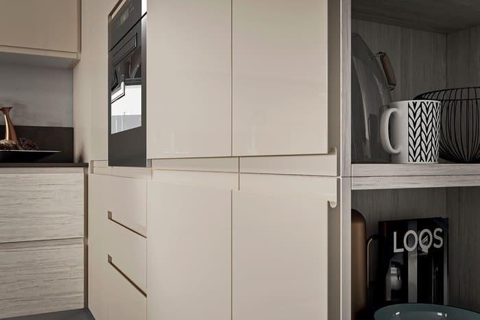 Colombini Casa Cucina Moderna Pura maniglia invisibile 20 21