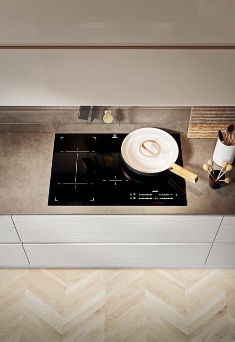 Colombini Casa Cucina Moderna Pura piano cottura induzione 31