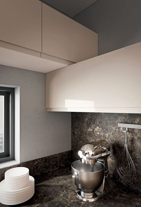 Colombini Casa Cucina Moderna Pura piano marmo 66a