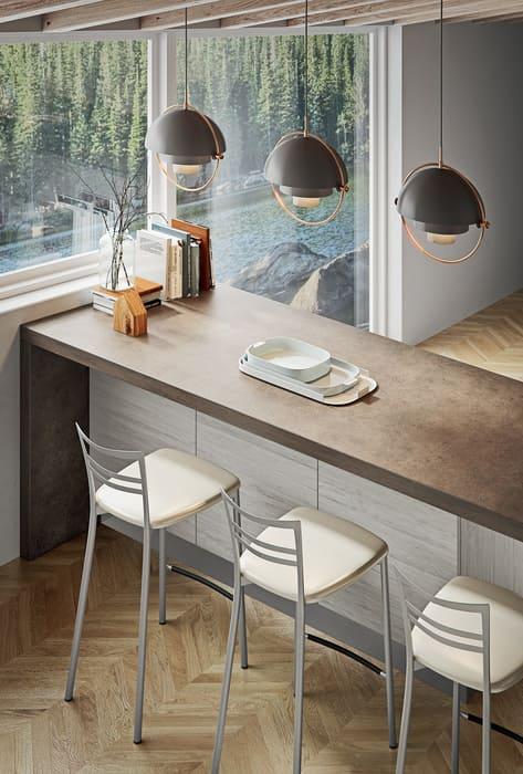 Colombini Casa Cucina Moderna Pura tavolo isola 28
