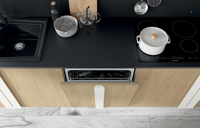 Colombini Casa Cucina Moderna Quadra anta lavastoviglie 41c