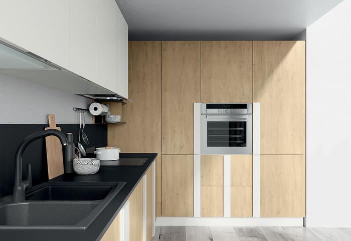 Colombini Casa Cucina Moderna Quadra colonna forno 42